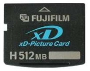 Fujifilm xD-Picture Card 512MB (Typ H)