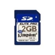 Kingston Secure Digital Card (SD) Elite Pro 2GB