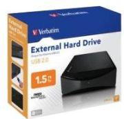 Verbatim 3.5&quot; External Hard Drive USB 2.0 1,5TB (47513) im Preisvergleich