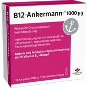 Medikament B12 ANKERMANN 1000UG, 10 Amp. (N2) 1000 µg/ml (1 m