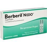 Medikament BERBERIL N EDO, 10 Ein-Dosis-Ophtiolen (N1) mit 0,