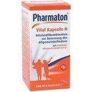 Medikament PHARMATON VITAL KAPSELN N, 100 Weichkps.