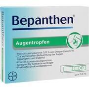 Medikament BEPANTHEN AUGENTROPFEN 20 X 0.5 ML
