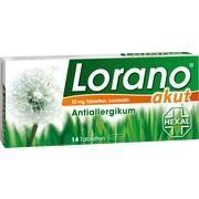 Medikament LORANO AKUT TABLETTEN, 14 St.