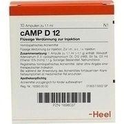 Medikament CAMP D 12 AMPULLEN, 10 St.