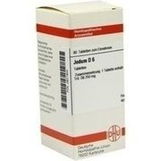 Medikament JODUM D 6 TABLETTEN, 80 St.