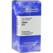 Medikament BIOCHEMIE 11 SILICEA D 12 TABL 200 ST (02734835)