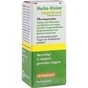 Medikament HERBA VISION AUGENTROST AUGENTR., 15 ml