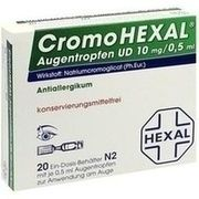 Medikament CROMOHEXAL UD EDP, 20 Ein-Dosis-Beh. (N1) zu 0,5 m