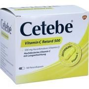 Medikament CETEBE VITAMIN C RETARD500, 180 Kps.