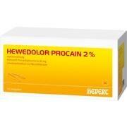 Medikament HEWEDOLOR PROCAIN 2%, 100 Amp. 2 ml