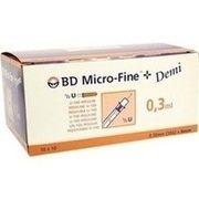 Medikament BD MICRO FINE PLUS U100 0.3X8 SPRITZEN