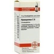 Medikament HYOSCYAMUS C 6 GLOBULI, 10 g