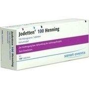 Medikament JODETTEN 100 HENNING, 100 Tbl. (N3) 100 µg