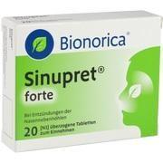 Medikament SINUPRET FORTE DRA BIONORI, 20 Drg. (N1)