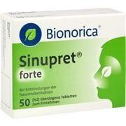Medikament SINUPRET FORTE DRA BIONORI, 50 Drg. (N2)