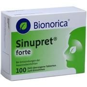 Medikament SINUPRET FORTE DRA BIONORI, 100 Drg. (N3)
