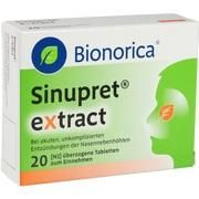 Medikament Sinupret extract 20 St.