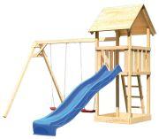 Akubi Spielturm Lotti mit Satteldach inkl. Doppel