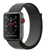 Apple Watch Series 3 GPS + Cellular 42 mm Aluminiumgehäuse mit Sport Loop (MQKQ2ZD/A)