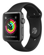 Apple Watch Series 3 GPS 42 mm Aluminiumgehäuse mit Spor