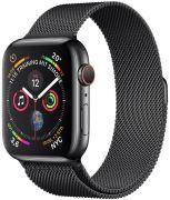 Apple Watch 4 GPS + Cell 44 Edelstahlgehäuse Milanaise (