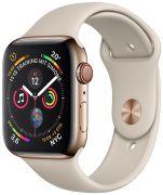 Apple Watch 4 GPS + Cell 44 Edelstahl Sportarmband (MTX4