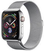Apple Watch 4 GPS + Cell 44 Edelstahl Milanaise (MTX12FD