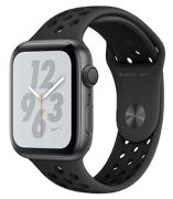 Apple Watch Series 4 Nike+ GPS 44 mm mit Sportarmband (MU6L2FD/A)