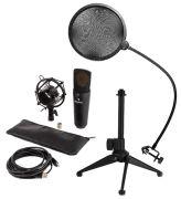 Auna MIC-920B USB Mikrofon-Set V2