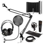 Auna MIC-920B USB Mikrofon-Set V5 Kopfhörer