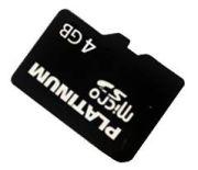 Bestmedia Platinum microSDHC 4GB