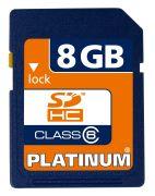 Bestmedia Platinum SD-Card (SDHC) Class 6 8GB