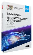Bitdefender Internet Security Multi-Device 2018 (3 User, 2 Jah