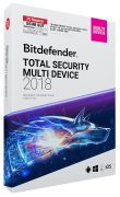 Bitdefender Total Security Multi-Device 2018 (5 User, 3 Jahre)
