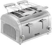 Bartscher 4 Scheiben Toaster Silverline
