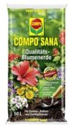 Compo Sana Qualitäts-Blumenerde 25 l