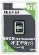 Fujifilm SDHC High Performance 8GB Class 6