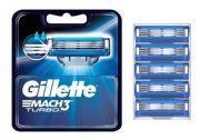 Gillette Mach3 Turbo 5er Pack Ersatzklingen