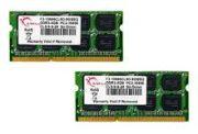G.Skill SO-DIMM 8GB PC3-10667 DDR3 Kit F3-10666CL9D-8GBSQ