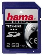 Hama Secure Digital Card (SD) 2GB Tech-Line 150x