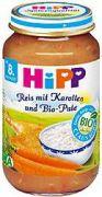 Hipp Reis mit Karotten und Bio-Pute