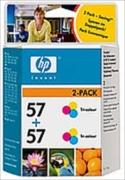 HP-Hewlett-Packard 57 (HP C9503A) Twin-Pack