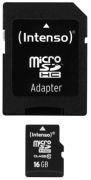 Intenso Micro SD Card Class 10 High Performance 16GB