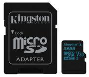 Kingston Canvas Go! microSDHC 32GB (SDCG2/32GB)