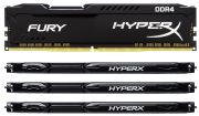 Kingston DDR4-2666 64GB HyperX Fury Kit (HX426C16FBK4/64)