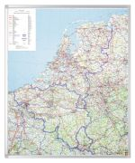 Legamaster Professional Kartentafel Benelux 105 x 88 cm