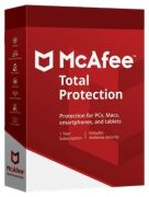 McAfee Total Protection 2019 (10 User, 1 Jahr)