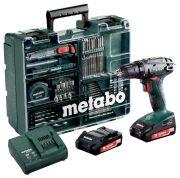 Metabo BS 18 Set (602207880)