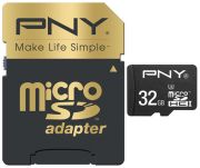 PNY microSDHC Elite Performance 32GB Class 10 UHS-I (SDU32G10ELIPER-EF)
